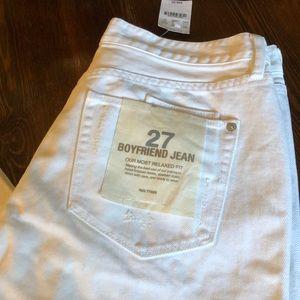 J. Crew 27 Boyfriends Jeans NWT